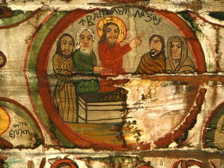 Invierea lui Lazar - Garbau