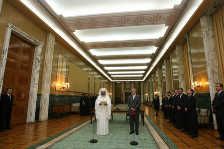 Protocolul de cooperare in domeniul incluziunii sociale intre Guvernul Romaniei si Patriarhia Romana