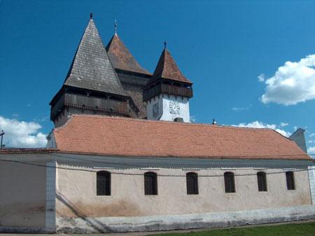 Biserica fortificata din Homorod