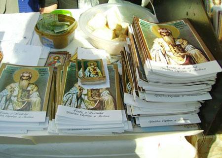 Sarbatoarea Sfantului Sfintitului Mucenic Ciprian la Biserica Zlatari din Capitala