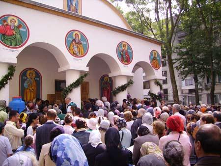 Sfintire la Biserica Sfanta Vineri - Berceni