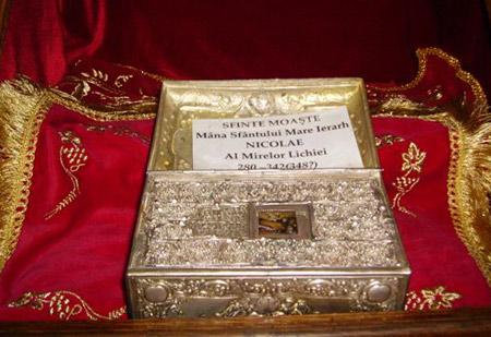 Moastele Sfantului Nicolae - Biserica Sfantul Gheorghe Nou din Bucuresti