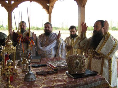 Hram la Schitul Sfantul Fanurie din Silistea-Gumesti