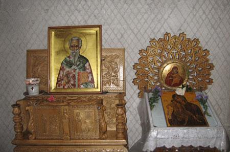 Manastirea Putna - Moastele Sfantului Ghenadie