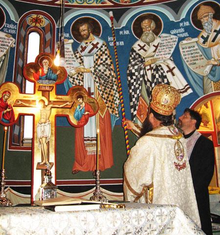 Sfintirea Paraclisului Manastirii Sfantul Gheorghe-Tiganesti