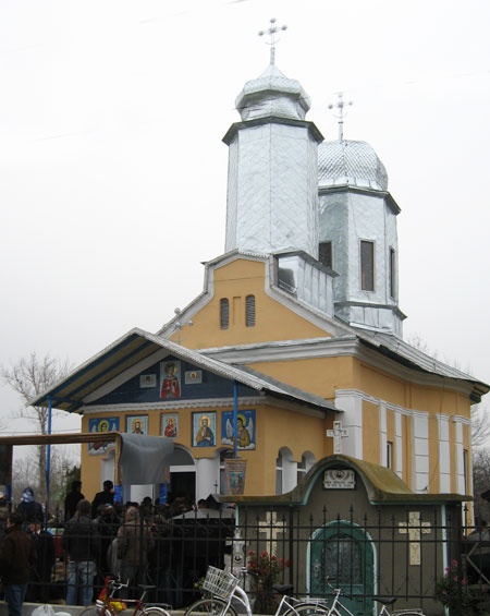 Biserica parohiei Gagiulesti, protoieria Slatina I