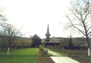Jercalai - Alee spre biserica
