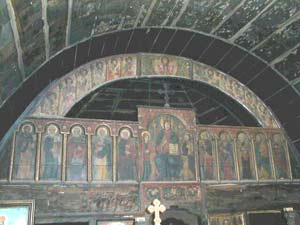 Jercalai - Catapeteasma bisericii