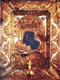 Icoana cu Maica Domnului la Manastirea Namaiesti