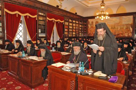 Sedinta extraordinara a Sfantului Sinod