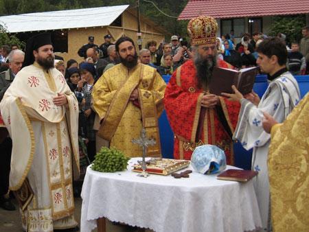 Sfinrirea Manastirii Ianculesti