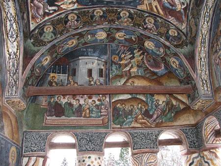 Manastirea Bistrita - Biserica Bolnitei