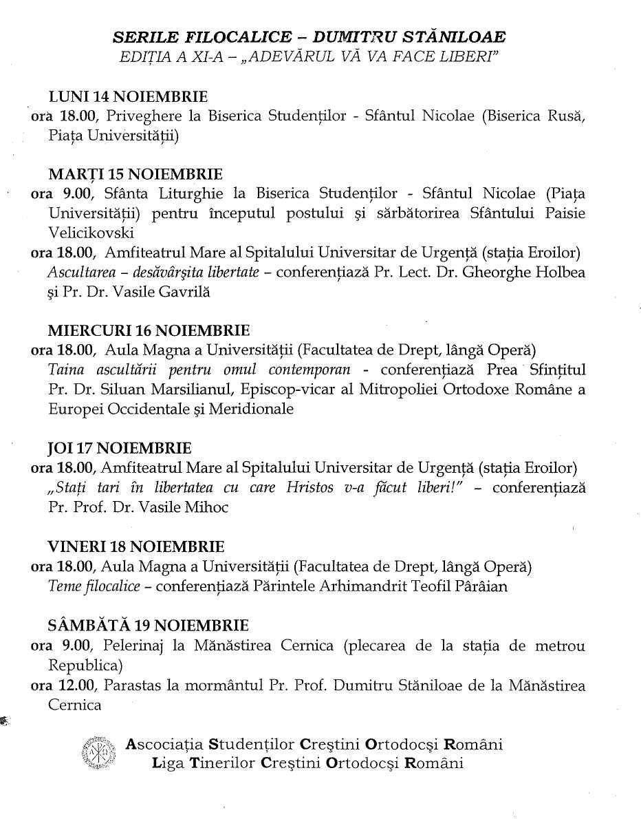 Program Seri Filocalice
