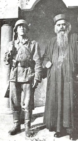 Sfantul Nicolae Velimirovici - arestat