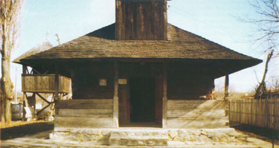 Biserica din lemn din Dridul Snagovului