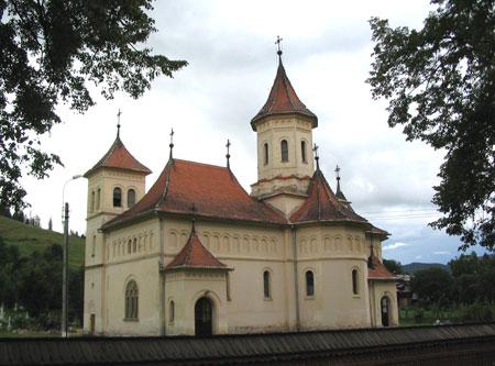 Biserica Nasterea Maicii Domnului - comuna Putna