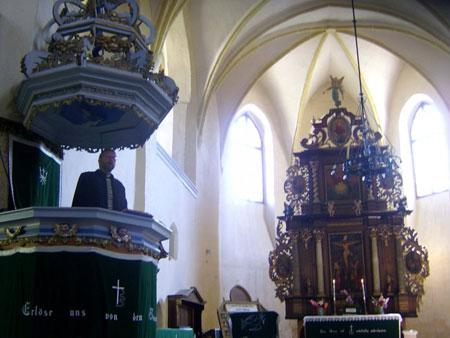 Biserica fortificata din Cristian
