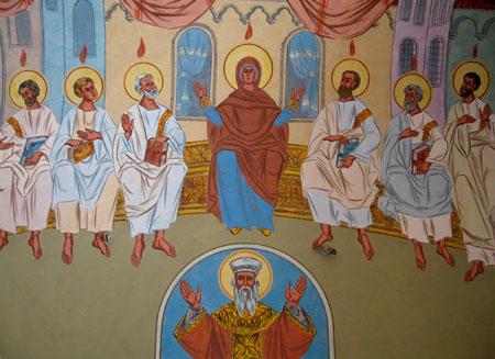 Biserica Eroilor - Pogorarea Sfantului Duh