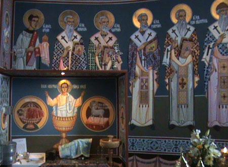 Biserica Mesteacan - Intrarea Domnului in Ierusalim