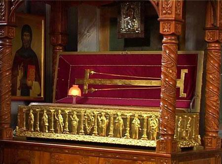 Manastirea Bistrita - Moastele <a href='/acatiste/67126-acatistul-sfantului-grigorie-decapolitul' _fcksavedurl='/acatiste/67126-acatistul-sfantului-grigorie-decapolitul' title='Acatistul Sfantului Grigorie Decapolitul' class='linking auto'>Sfantului Grigorie Decapolitul</a>