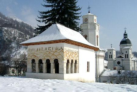 Biserica-bolnita a Manastirii Bistrita