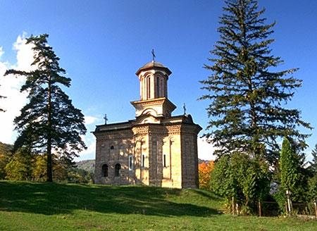 Biserica-bolnita a Manastirii Cozia