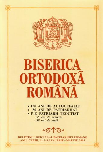 Buletinul Oficial al Patriarhiei Romane