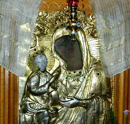 Icoana Facatoare de Minuni a Maicii Domnului - Manastirea Dalhauti