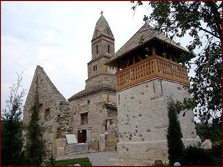 Biserica Sfantul Nicolae din Densus