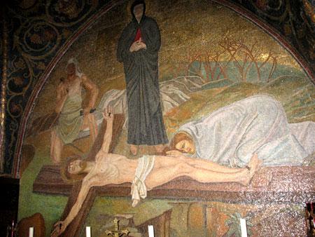 <a href='/biserica-in-lume/88589-biserica-sfantului-mormant-biserica-invierii' _fcksavedurl='/biserica-in-lume/88589-biserica-sfantului-mormant-biserica-invierii' title='Biserica Sfantului Mormant - Biserica Invierii' class='linking auto'>Biserica Sfantului Mormant</a>