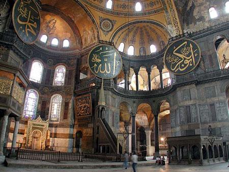 Sfanta Sofia - Aghia Sophia din Constantinopol
