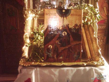 Icoana Nasterea Domnului- biserica Diham