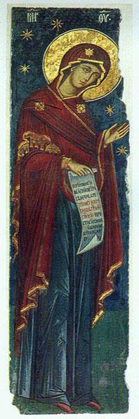 Manastirea Curtea de Arges - Maica Domnului