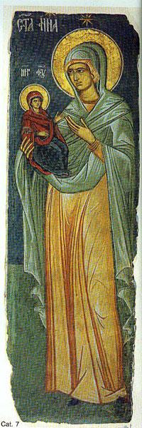 Manastirea Curtea de Arges - Dreapta Ana si Maica Domnului