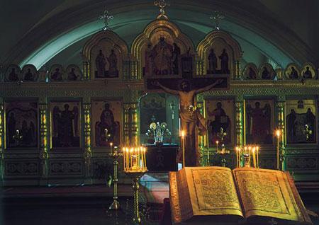 Manastirea Valaam, Biserica Sfintii Serghie si Herman - locul unde se afla Moastele Sfantului Antipa de la Calapodesti