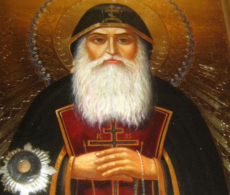 Manastirea Christiana - Icoana cu Moastele Sfantului Antipa de la Calapodesti