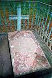Manastirea Valaam - mormantul Sfantului Antipa