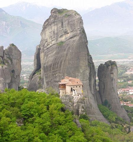 Meteora - Manastire de pe Meteore