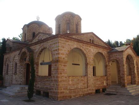 Muntele Olimp - Biserica Sfantul Dionisie