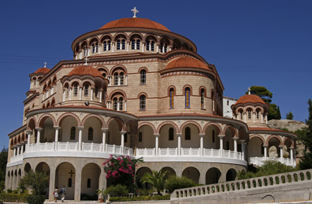 Eghina - Manastirea Sfantul Ierarh Nectarie