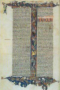 Istoria pergamentului si a impodobirii lui cu miniaturi