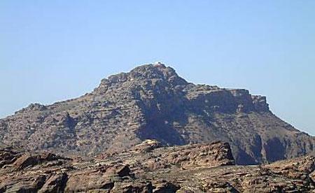 Petra - Muntele Jebel Haorun
