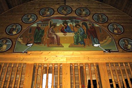 Biserica Pogorarea Sfantului Duh - Parc Titan