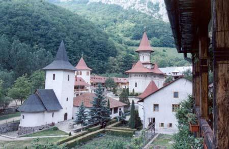 Manastirea Ramet - ansamblu