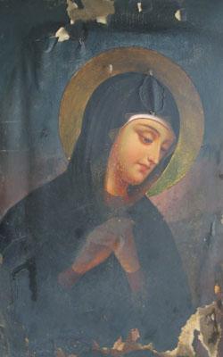 Manastirea Rohia - Icoana Maicii Domnului