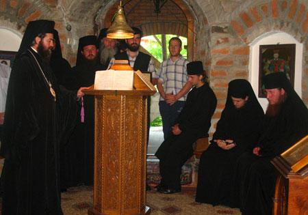 Manastirea Rohia - Slujba Vecerniei