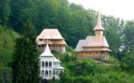 Manastirea Rohia - coltul maramuresean
