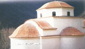 Biserica noua in curs de finalizare