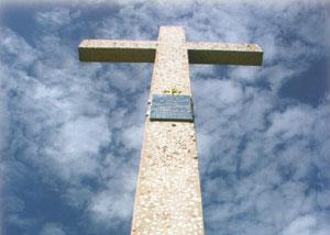 Cruce lucrata in mozaic