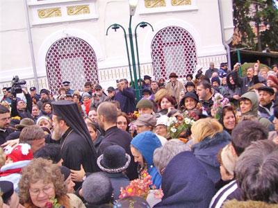 Zi de hram la Biserica Sfantul Mina din Capitala